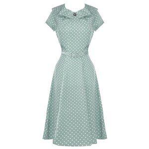 1940s Ingrid Wartime Tea Dress